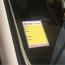 Car Specs Stickers